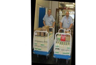 Real Life Stories- The Milk race at Doncaster Royal Infirmary