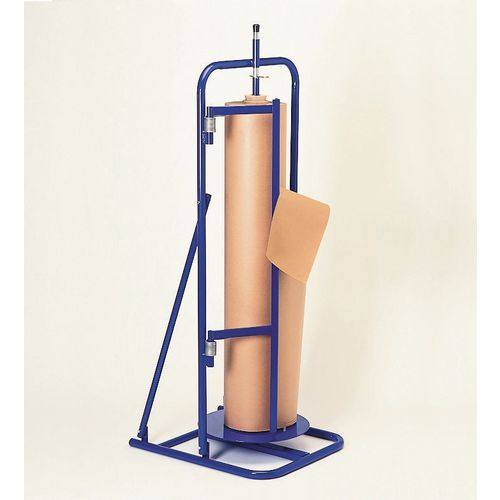 Vertical paper roll dispenser