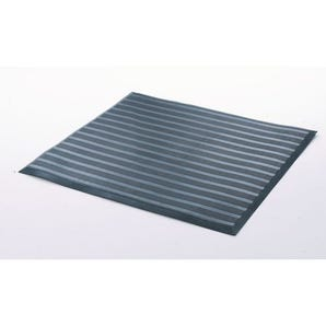 Grid backed rubber safety matting - Individual mats