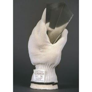Polar bear cut resistant glove