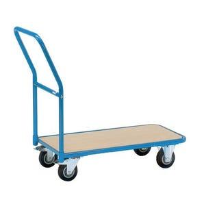 Fetra narrow storeroom trolley