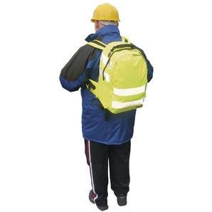 Hi-visibility rucksack