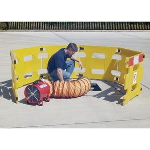 Portable ventilators/extractors, fan diameter 200mm