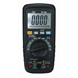 Auto ranging digital multimeters, with soft zip carry pouch, 2 test leads and battery