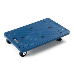 Plastic platform dollies