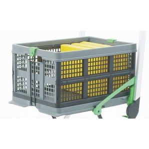Folding trolley extra box