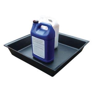Heavy duty small polyethylene drip tray