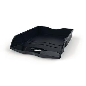 Heavy duty plastic letter tray