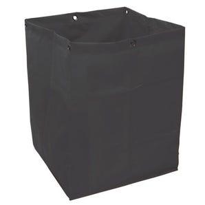 Strong, heavy duty fabric, PVC coated sack.