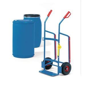 Fetra drum truck for plastic drums