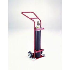 Oxygen cylinder trolley (hospital use only)