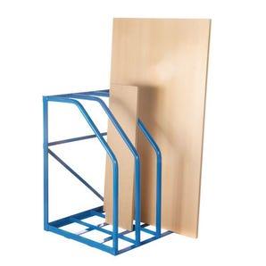 Vertical sheet racks - single access