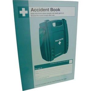 GDPR compliant A5 accident book