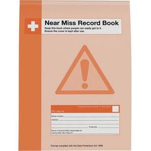Near miss record book