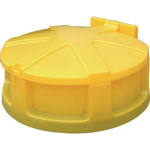 Single drum funnel and lid