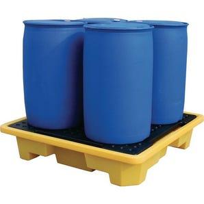 Nestable plastic sump pallets