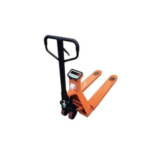 Pallet truck scales with printer