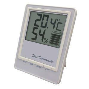 Jumbo thermo-hygrometer