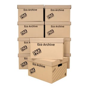 Light duty archive boxes - pack of 10