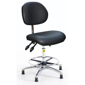 High ESD clean room chair