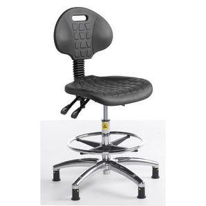 Static dissipative polyurethane chair