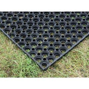 Outdoor erosion control environmental matting