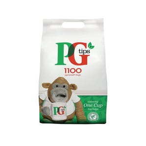 PG 1 cup 1100 teabags
