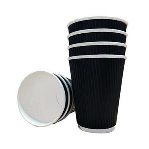 12oz Triple walled paper cups