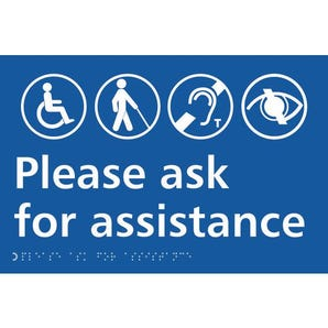 Taktyle braille signs