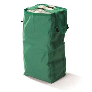 Folding linen trolleys - coloured bags