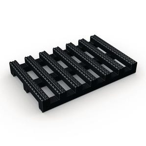 Plastex Crossgrip® Slip resistant PVC roof walkway matting