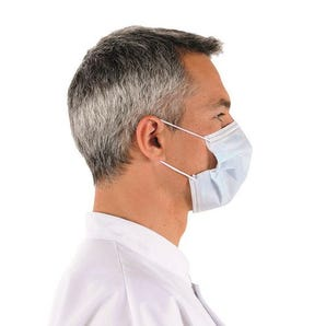 3-Ply Type II disposable surgical-style face mask, 50 per pack