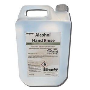 80% Alcohol hand rinse 5L