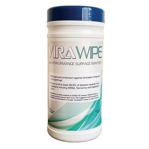 Virawipe high performance bio-degradable surface sanitiser wipes, 80 pack