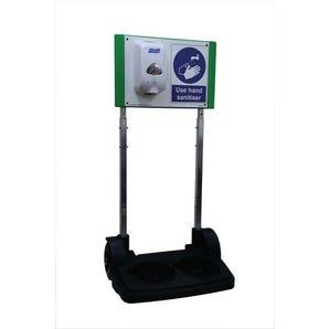 SafetyHub mobile hand sanitising station