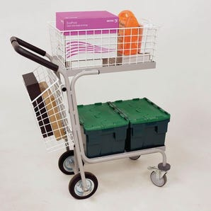 Large distribution trolley
