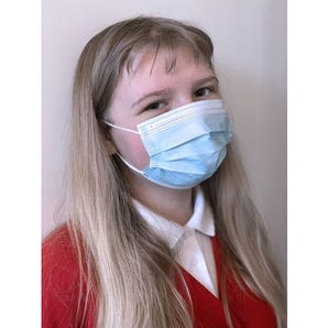 Childrens disposable 3-ply face masks