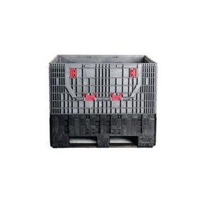 Heavy duty folding box plallet