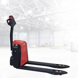 Fully electric pallet truck - lithium powered
