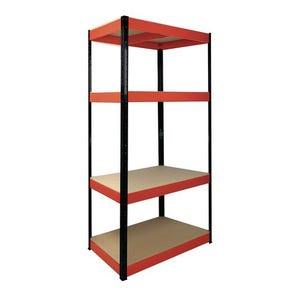 RB BOSS Boltless steel shelving - 175kg per shelf