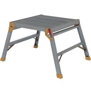 Folding square aluminium work platform