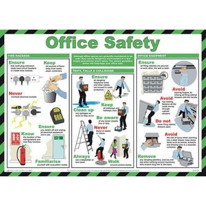 Office safety sign