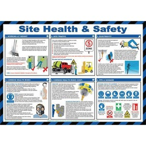 Site health & safety sign