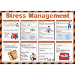 Stress management sign