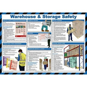 Warehouse & storage safety sign