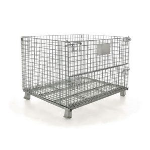 Stackable wire frame pallet