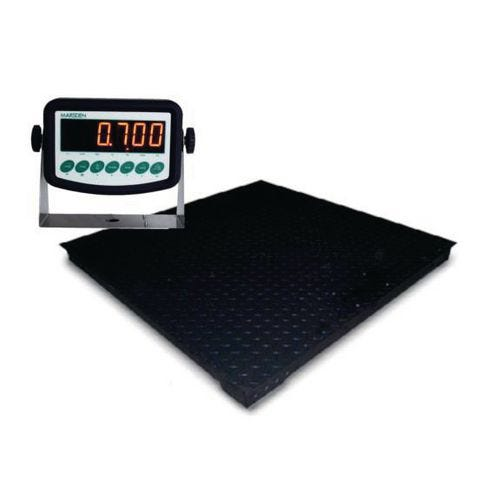 Platform scales with 32mm LED indicator