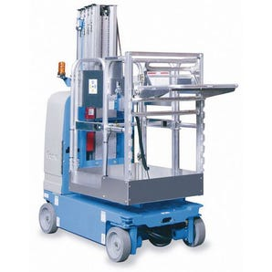Powered drivable work platform