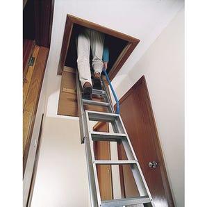 Premium two section loft ladder