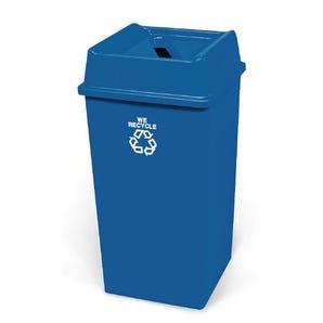 Large paper recycling bin